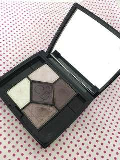 Dior 5 colours eyeshadow palette
