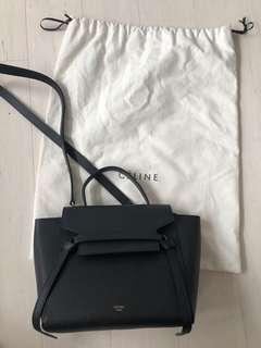Authentic Celine nano belt bag