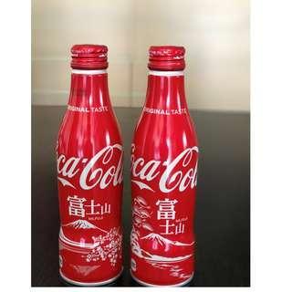 可口可樂日本限定鋁瓶 – 富士山 (1套2支)