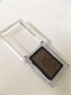 Maquillage eyeshadow in brown