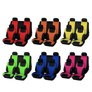 5 seaters car seat cover. Free shipping.