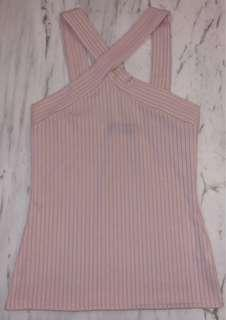 MISSGUIDED Baby Pink Tank Top SIZE 8