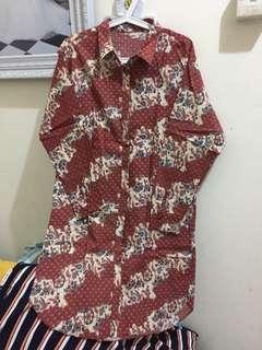 Kemeja Dress Batik Egotisme