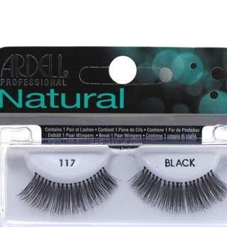 Ardell Natural FALSE Lashes #117 Black  $5 Each. BRAND NEW [PRICE IS FIRM, NO SWAPS)