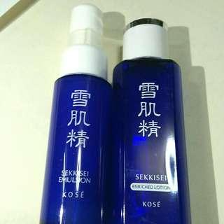 DUO KOSE SEIKKISEI ENRICHED LOTION + EMULSION