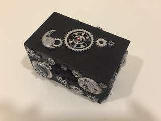 3d Element Gears  ~Decorative Mini Gift Box