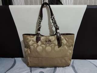 100% Authentic Coach tote bag