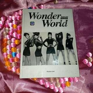 WONDER GIRLS 2ND ALBUM WONDER WORLD