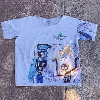 Jean Michael Basquiat x Uniqlo for moma limited collection