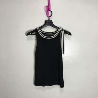 DKNY Knitted Sleeveless Top