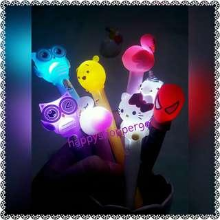 3 set CToons LED GELPEN/Sign pen