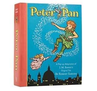 Peter Pan (A Classic Collectible Pop up book) by Robert Sabuda