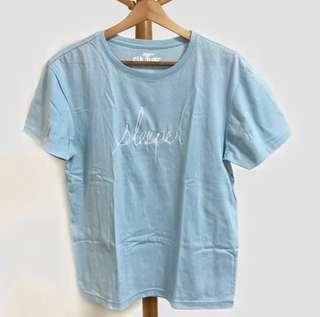 "Tee Culture ""Sleeper"" Sky Blue Tshirt"