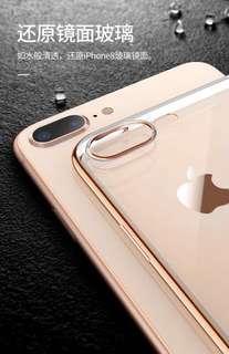 ‼️ 2 IPHONE 7PLUS CASES + TEMPER GLASS‼️