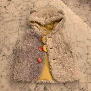 Baby cheer vest