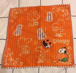 Snoopy Woodstock Halloween 毛巾