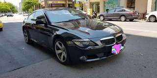 正2008年出廠   BMW 小改款650雙門coupe