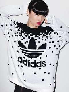 adidas Originals x Jeremy Scott Pixelated Sweatshirt