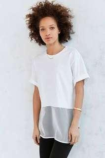 adidas Originals Basketball Mesh Long T-Shirt