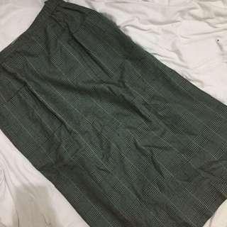 Plaids skirt