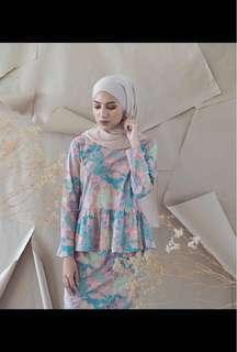 [REDUCED] Summershop Soft Pastel Batik