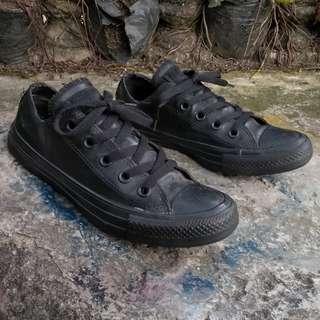 Converse Ct low Black Rubber