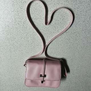 Pastel Pink Sling Bag