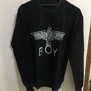 Boy sweater black S