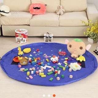 Toy Organizer Storage Play Mat