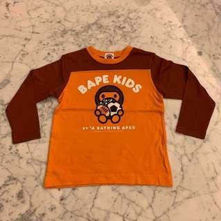 Bape Kids football top