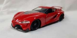 1:32 diecast Toyota FT-1 by Jada
