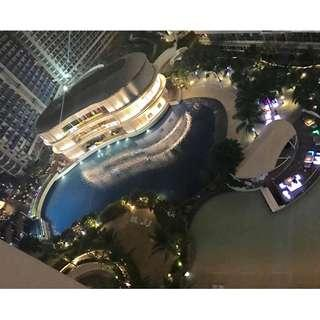AFFORDABLE 1BEDROOM STAYCATION AT AZURE BEACH RESORT FREE POOL AND WIFI