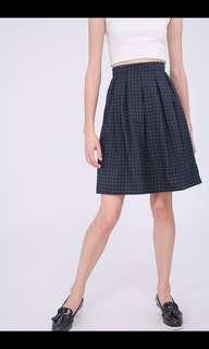 RWB Rena skirt (navy grid)