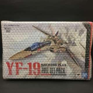 Bandai DX Chogokin YF-19 Full Set Pack