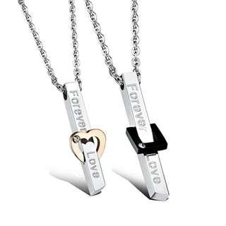 🚚 Forever Love Couple Necklaces