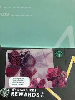 Thailand Sakura Starbucks Card