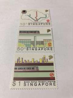 Singapore 1988 MRT mnh