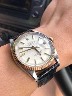 (Crazy Sale!) Rare Rolex Ref. 1601 Cream Dial