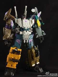 Transformers Combiner Wars bruticus KO