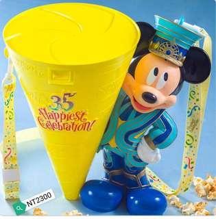 預購-米奇35週年限量版爆米花桶