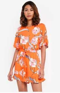 Cotton on Orange Playsuit
