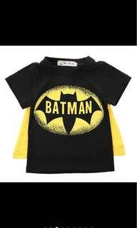 Brand new 2-3 years batman top