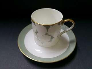 Narumi artist collection cappuccino cup and suacer
