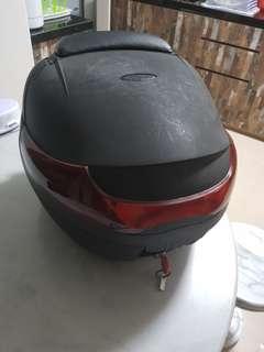 Motorcycle Rear Helmet Box