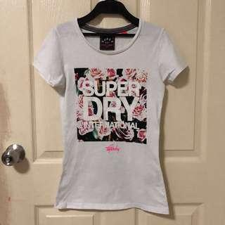 Superdry Floral Graphic Tshirt