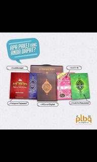 Quran with digital pen