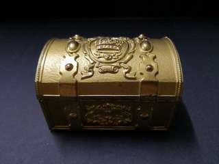Sankyo metal music treasure jewelry box