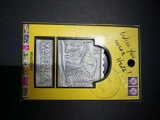 Porcelain Stamp Fridge magnet