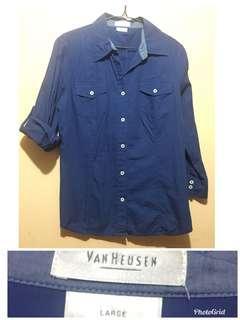 Van heusen navy blue large