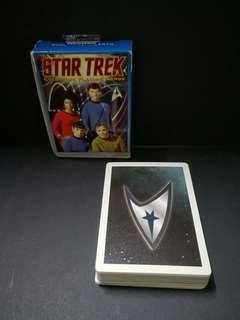 Vintage star track playing card